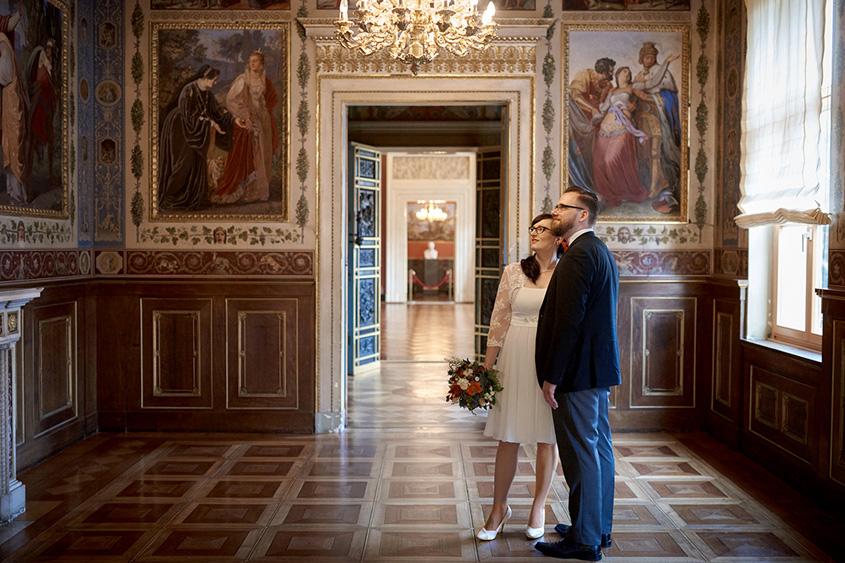 Brautpaarshooting Schloss Weimar