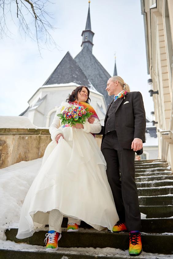 Winter Hochzeit in Weimar White Wedding Bild-206