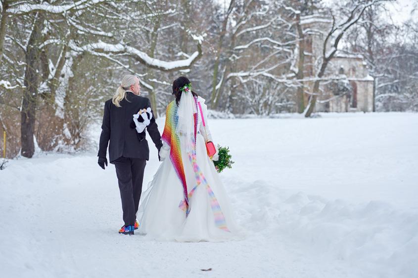 Winter Hochzeit in Weimar White Wedding