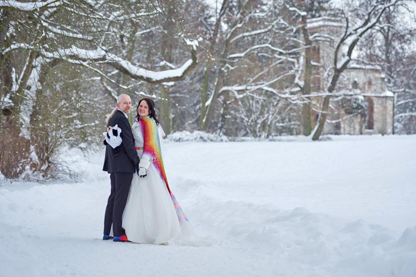 Winter Hochzeit in Weimar White Wedding Bild-345