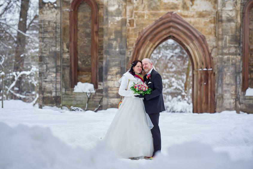 Winter Hochzeit in Weimar White Wedding Bild-367