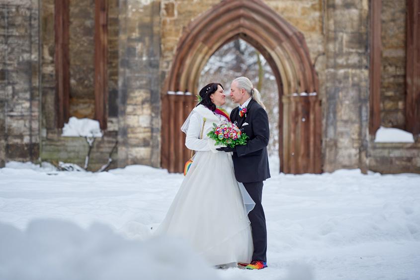 Winter Hochzeit in Weimar White Wedding Bild-369