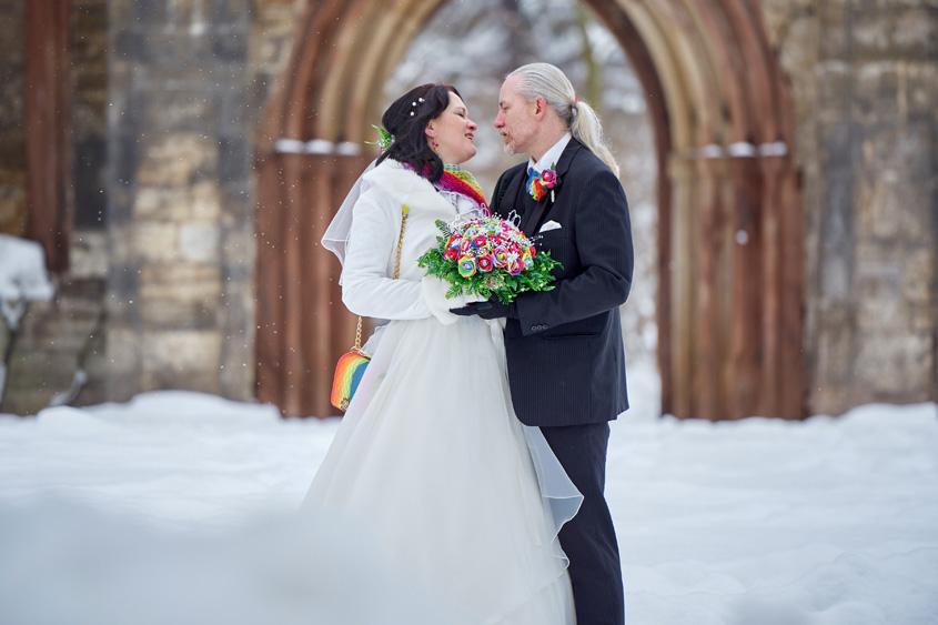 Winter Hochzeit in Weimar White Wedding Bild-372