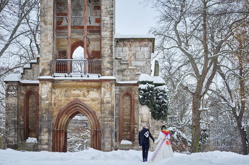 Winter Hochzeit in Weimar White Wedding Bild-376