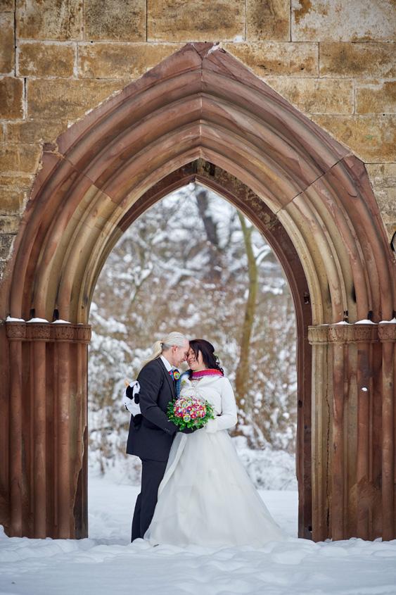 Winter Hochzeit in Weimar White Wedding Bild-389