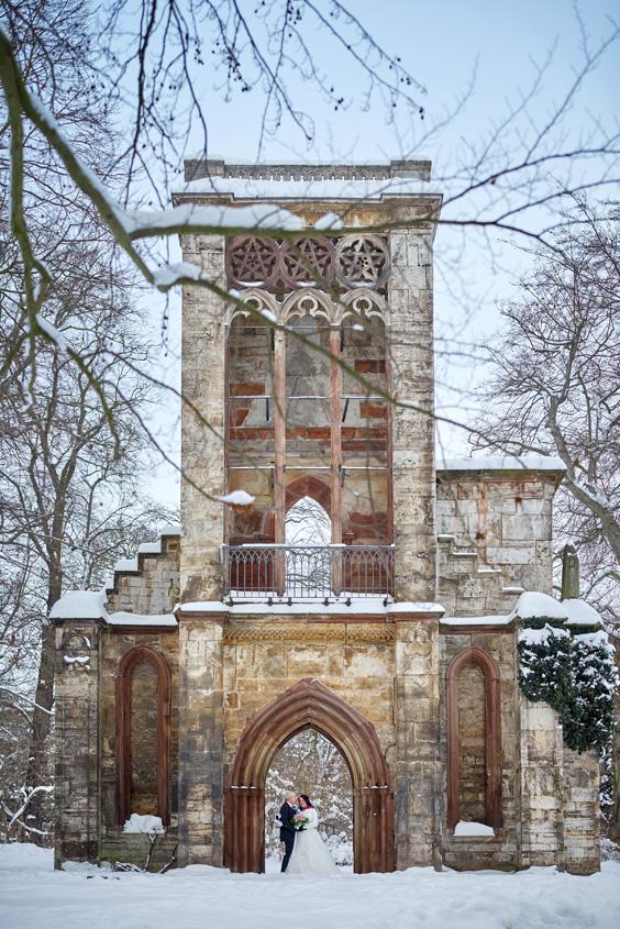 Winter Hochzeit in Weimar White Wedding Bild-393